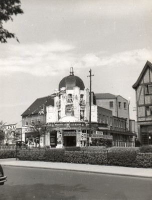 Front view of the Building that would become Odeon Cinema | Watford Museum