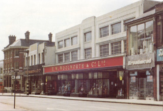 View of Woolworths on Watford High Street | Watford Museum
