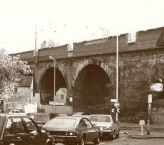 View of road going under Bushey Arches | Watford Museum