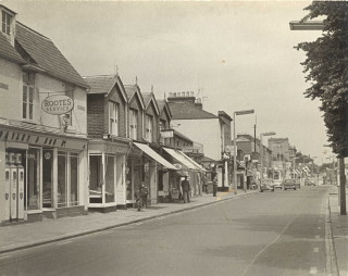 A view of St Albans Road in the 1960s | Watford Museum