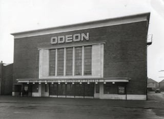 A view of the front of the Odeon Cinema on St Albans Road | John Maltby RCHM
