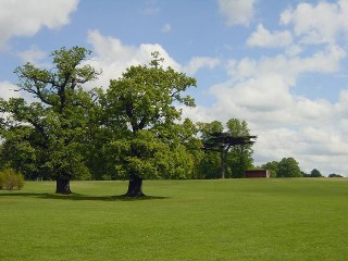 The expansive beautiful Cassiobury Park