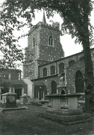 St Mary's in the late 1970s