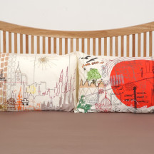 'Across Seven Seas' by Merete Krohn, part of the Dream Landings exhibition