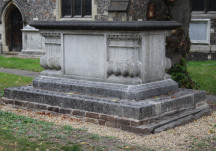 St Mary's tombs