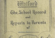 From Watford Field to Victoria School 1942