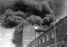 British Moulded Hose factory Fire 1961
