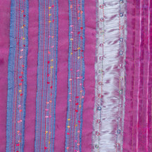 Detail of 'Reading (Between the Lines)' by Sumi Perera, part of the Dream Landings exhibition