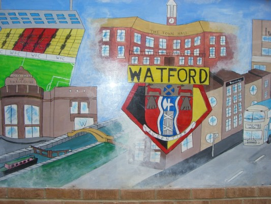 Watford's famous football club