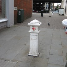 Coal duty boundary marker. This marked where people paid duty for bringing items into London during the 19th century.