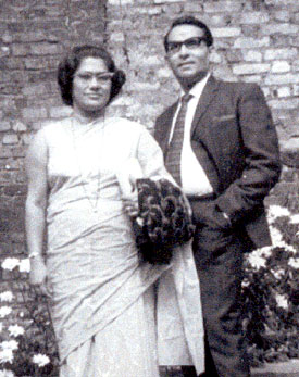 Poonam's parents