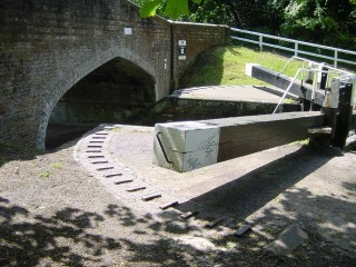 Grand Union Canal Lock Gates