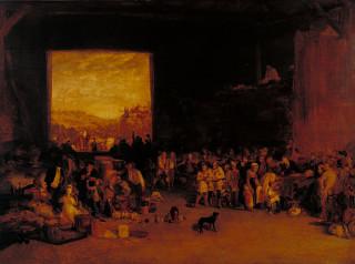 Harvest Home by J.M.W. Turner, circa 1809
