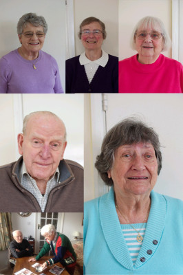 A collage of photographic portraits of interviewees | Watford Live!