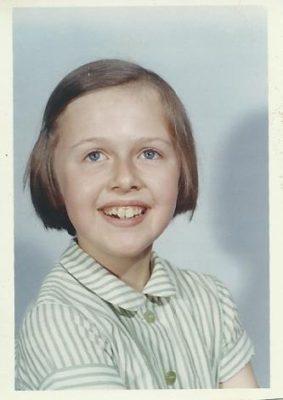 Carol Corfield, 1964, aged 10