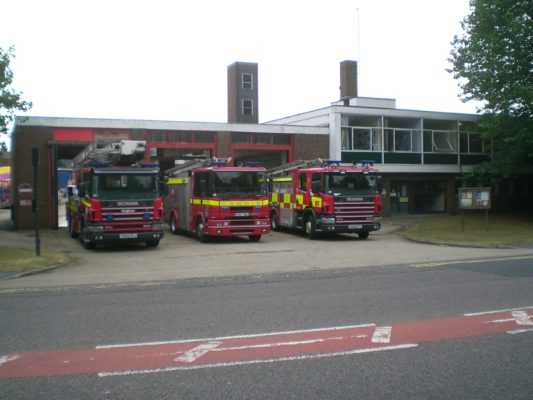 Fire Station, Whippendell Road, 1961 to 2009