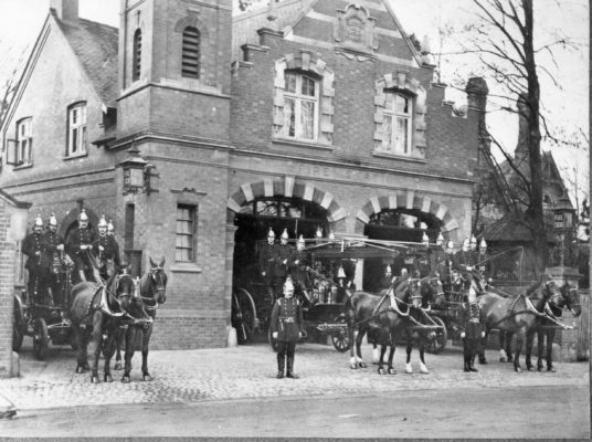 Fire Station, High Street, 1900 to 1961